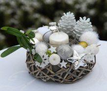 Dekorace vánoční - svícen