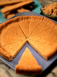 Brown sugar shortbread.  This would be a nice change for get togethers or something to take to the neighbors.