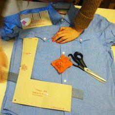 Buenos dias com novos chemises de chambray a caminho! O chambray é um primo do jeans muito usado para fazer camisas masculinas e é otimo para fazer vestidos. Tem um caimento muito bom, é fácil de combinar e o toque é muito gostoso.