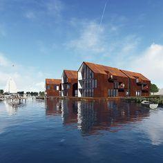 Zelf een huis bouwen | Bouw Je Eigen Huis.nl Cabin, House Styles, Home Decor, Decoration Home, Room Decor, Cabins, Cottage, Home Interior Design, Wooden Houses