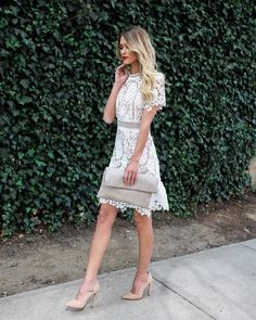 PREORDER - Pledging My Love Lace Dress
