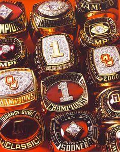 Sooner Championship RINGS!!!!!!!!!!!!!