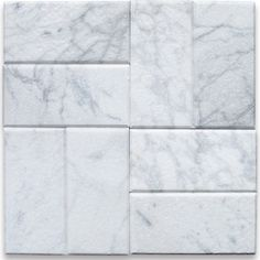"""Shop Houzz: Luxe Neutrals for the Bath Carrara White Marble Subway Tile $13.89 italian white bianco Carrara tumbled marble tile 3"""" width x 6"""" length x 3/8"""" thickness. -Tumbled finish-Price per sq.ft. (8 tiles) Perfect for kitchen backsplash, bathroom flooring, shower surround, countertop, dining room, hall, lobby, corridor, balcony, terrace, spa, pool, etc."""