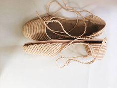 @seavibedesign Raffia sandals