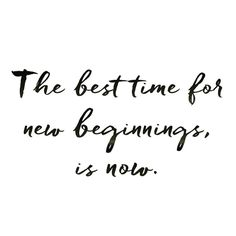 The best time for new beginnings is Now!!! #now #ahora #aqui #almaplastía #coaching #jissellespinal