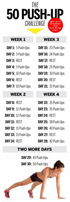 You've just got to start... #pushups