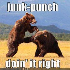 spleen slap = junk punch