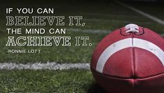 Motivational sports quotes led by football great, Ronnie Lott! Inspirational Football Quotes, Motivational Quotes For Athletes, Inspiring Quotes, Athletic Quotes, Uplifting Quotes, Soccer Player Quotes, Soccer Players, Soccer Quotes, Football Motivation