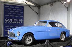 Beautiful Blue Ferrari  #Ferrari #ClassicCar