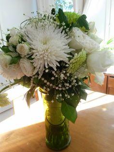 DIY. Sano se kukkasin, tahdon.. Say it with flowers - I do