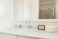 Stagones Private Villas....The Minimalist Cycladic AllWhite Master Bathroom Details...