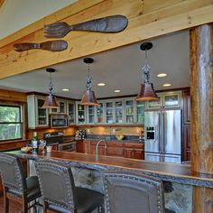 Kitchen Photos Rustic Design Ideas, Pictures, Remodel, and Decor - page 29
