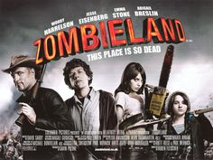 ZOMBIELAND (2009) - Woody Harrelson - Directed by Ruben Fleischer - Columbia Pictures - Movie Poster.