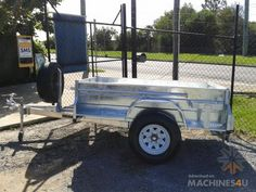 New 2013 Positive Quality Trailers H S Heavy Duty Off Road Trailer Galvanized Box Trailer in , - Listed on Box Trailer, Off Road Trailer, Trailer Build, Roof Top Tent, Diesel Engine, Rooftop, Offroad, Trailers, Trucks