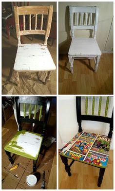 HJERTEHJORT: En stol for SUPERHELTER med SUPERHELTER!