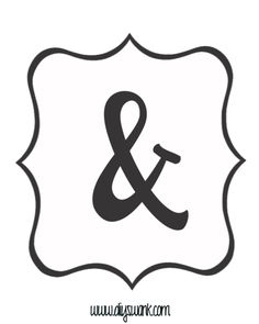 White and Black_Ampersand