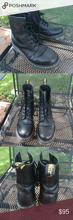 Dr Martens classic Women's 1460 Smooth Basically brand new, worn 3 or 4 times. Authentic and purchased from drmartens.com! Women's size 8 Dr. Martens Shoes Combat & Moto Boots