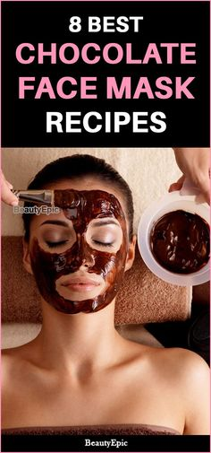 The chocolate face mask has capability to hydrate, rejuvenate and tone your face. In order to gain maximum benefits, while preparing chocolate face mask Chocolate Facial, Chocolate Face Mask, Best Chocolate, Chocolate Recipes, Easy Face Masks, Best Face Mask, Diy Face Mask, Face Face, Home Remedies For Hair