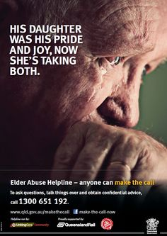 Elder Abuse and Neglect Act | Elder abuse – anyone can make the call! | Cairns