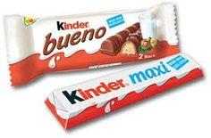 Kinder buenot ja maxit Candy, Mini, Food, Children, Eten, Candles, Meals, Candy Bars, Diet