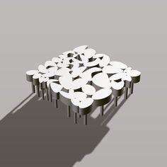 Organic Table Design I Created Using Fusion 360 CAD 3dprinting Nature ArchitectureLandscape Architecture