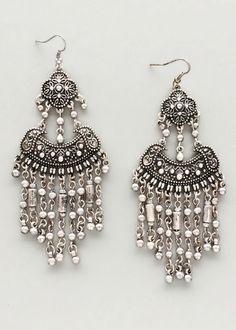 Silver Banjara Earrings