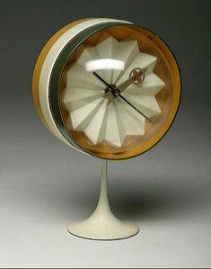 andrusmagnus: Table Clock George Nelson for Howard Miller andrusmagnus: T. - andrusmagnus: Table Clock George Nelson for Howard Miller andrusmagnus: T… – - Mid Century Modern Design, Mid Century Modern Furniture, Midcentury Modern, George Nelson, Retro Clock, Cool Clocks, Mid Century Decor, Cool Stuff, Decoration