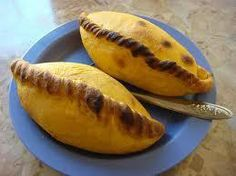 """Salteñas Bolivianas -- the best kind of """"empanadas"""" from South America, bar none. Bolivia Food, Latin American Food, Beef Empanadas, Spanish Dishes, Good Food, Yummy Food, Dinner Is Served, Food And Drink, Favorite Recipes"""