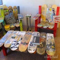 Skateboard Table    Jacob Ryder | Entertainment | bePortland