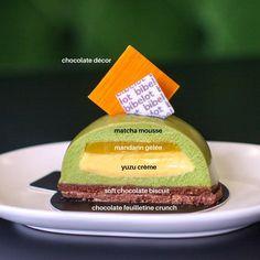"404 To se mi líbí, 9 komentářů – Bibelot (@bibelotsouthmelbourne) na Instagramu: ""Another one of our favourites: Green Tea-Mandarin Dome petit gâteau. Bonne appétit! #bibelot…"""