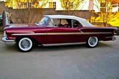 1958 Chevy Impala, Vintage Cars, Hot Rods, Convertible, Vehicles, Chevrolet, Cars, Infinity Dress, Car