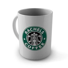 Personalised Starbucks Logo Mug - Any Name - Ceramic Mug…