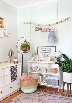Babyzimmer Einrichten Ideen Zur Gestaltung Des Zimmers Bunte Dekorationen  Im Babyzimmer Mädchen Blume