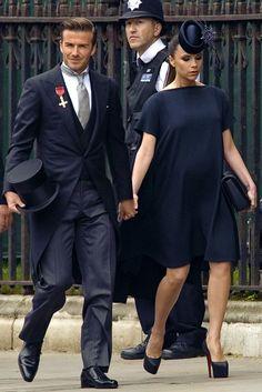 Victoria Beckham at the Royal Wedding