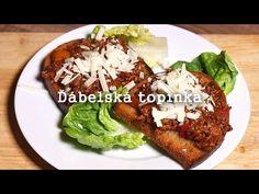 Ďábelská topinka - No to je bomba! Hamburger, Tacos, Pork, Food And Drink, Beef, Treats, Cooking, Ethnic Recipes, Youtube