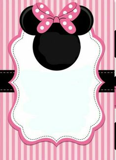 minnie mouse birthday party invitation template free free birthday
