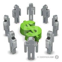 Group Around Dollar