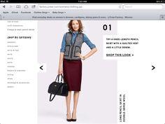 Herringbone best, chambray shirt, maroon bottom