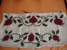 Pomegranate - soon to be a sweater!