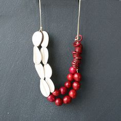Rojo Blanca Necklace, $34, now featured on Fab.