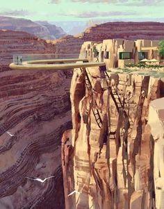 Pasarela transparente en el Gran Cañon Arizona USA -JHabich