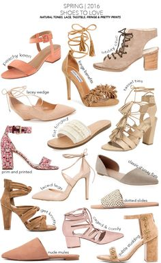 Spring 2016 Shoe Report