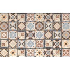 Kwadro Ceramika Dekor Molino patchwork 25 cm x 40 cm