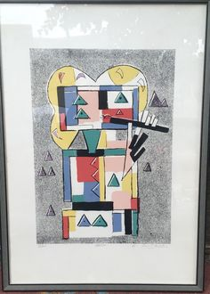 Stampa Multiplo Litografia Numerata Ibrahim KODRA (1918-2006) | eBay