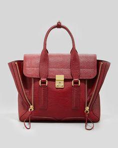 Pashli Medium Satchel Bag, Red by 3.1 Phillip Lim at Bergdorf Goodman.