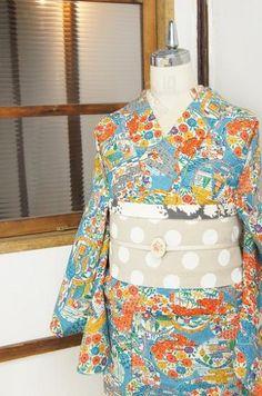 vintage style kimono