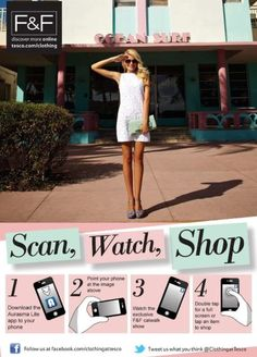 Tesco Introduces Virtual Clothes In Smaller Stores - We love shops and shopping. Thats it. Seanmurrayuk.com, www.facebook.com/ShoppedInternational and @Jenny Winegeart