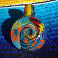 AUCTION!! I'll call the auction for this Coogi inspired spiral pendant sometime today.  Please place bids on original post thanks!!! #AAAglass #AAALuminati #glassofig #pendantsofig #Coogi #Coogiinspired #Coogisweater #sweatertech #coogitech #higherfashion #highfashion #smokeinstyle #spiral #spiralout #roygbiv #keepitchronic #marijuanamovement #cannabiscommunity