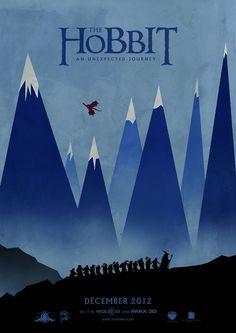 The Hobbit #Movie #Poster #Minimalist