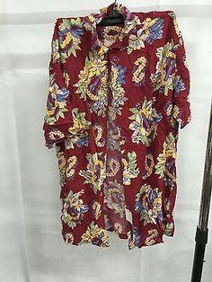 Ralph Lauren Multi Hawaii Flowers Button Down Shirt, Size S